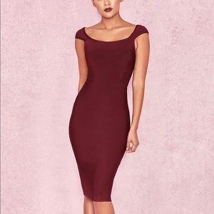 House of CB Anelle Bandage Midi Dress